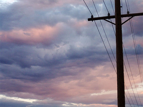 Low electric rates - power lines