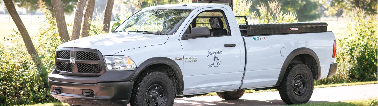 Juneau Utilities truck